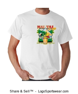 MAI TAI ISLAND MEN'S T SHIRT Design Zoom